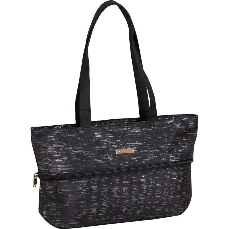 ジェニーチャン メンズ スーツケース バッグ Expandable Tote Black