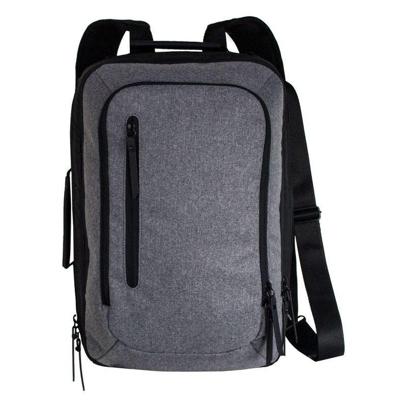 シェルパニ メンズ スーツケース バッグ Hudson Laptop Business Travel Backpack Slate