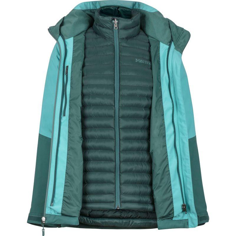 マーモット レディース ジャケット・ブルゾン アウター Womens Featherless Comp Jacket S - Mallard Green/Meadowbrook