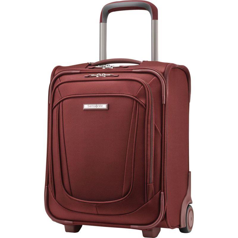 サムソナイト メンズ スーツケース バッグ Silhouette 16 Underseat 2-Wheeled Carry On Cabernet Red