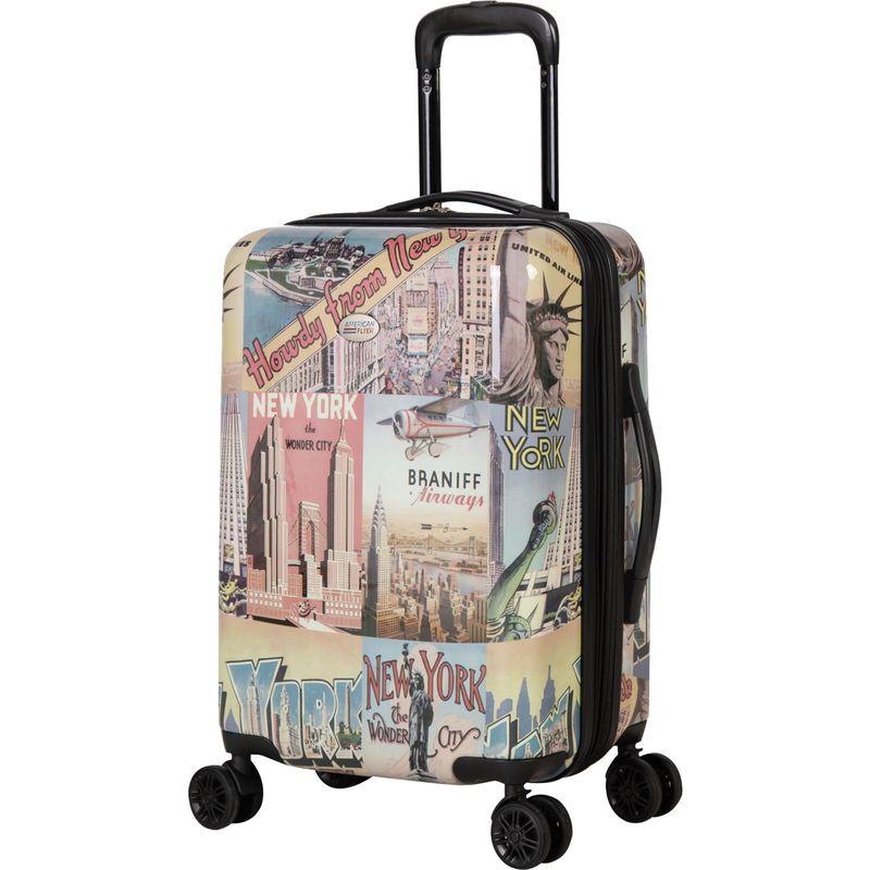 アメリカンフライアー メンズ スーツケース バッグ New York 22