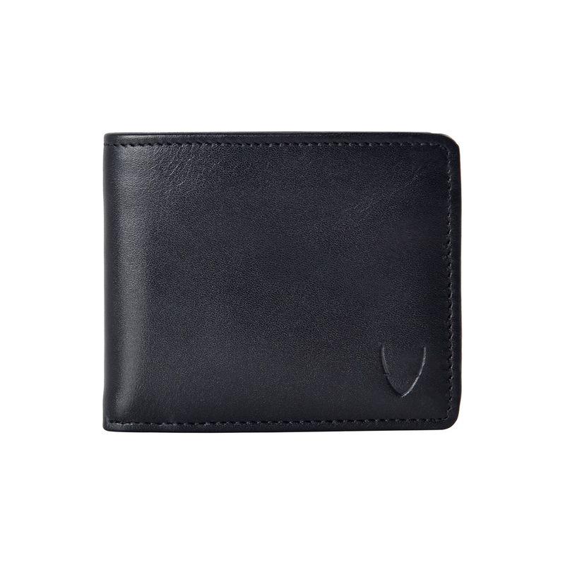 ハイデザイン メンズ 財布 アクセサリー Cape RFID Blocking Slim Bifold Wallet Black