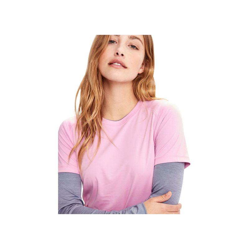ロル レディース シャツ トップス Cardio Short Sleeve XS - Daikon Heather