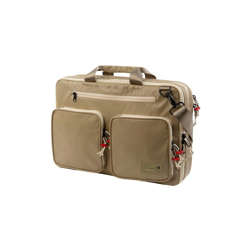 ヘックス メンズ スーツケース バッグ Expandable Briefcase Khaki Utility