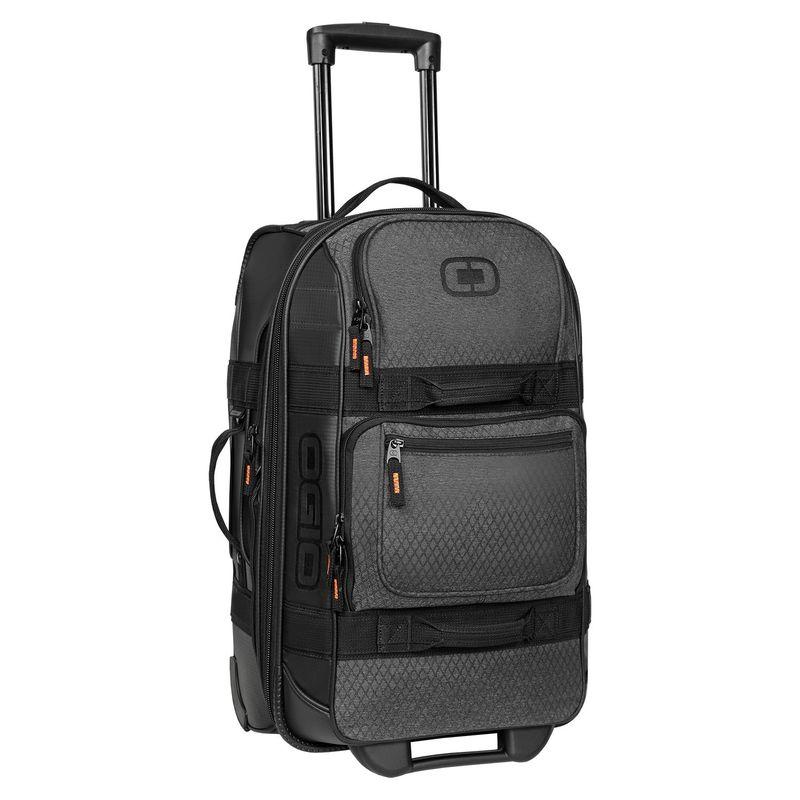 オギオ メンズ スーツケース バッグ Layover 22 Rolling Carry-On Graphite