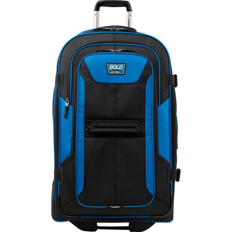 トラベルプロ メンズ スーツケース バッグ Travelpro Bold 28 Expandable Rollaboard Blue