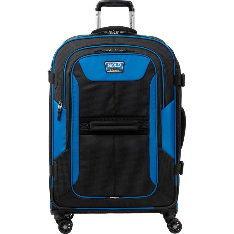 トラベルプロ メンズ スーツケース バッグ Travelpro Bold 26 Expandable Spinner Blue