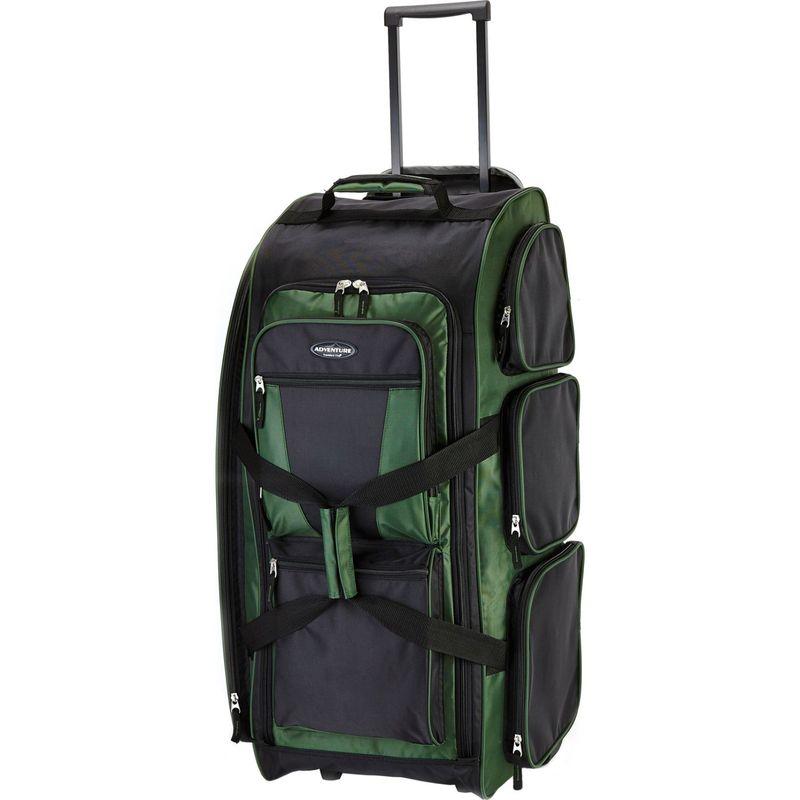 トラベラーズクラブ メンズ スーツケース バッグ 30 Xpedition Multi-Pocket Rolling Duffel- Exclusive Colors Forest Green - Exclusive