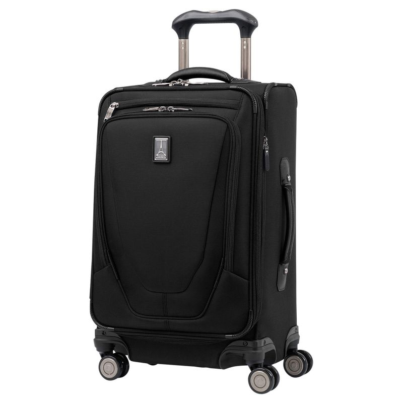 トラベルプロ メンズ スーツケース バッグ Crew 11 International Carry-On Spinner with USB Port Black