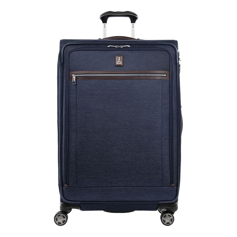 トラベルプロ メンズ スーツケース バッグ Platinum Elite 29 Expandable Spinner Navy