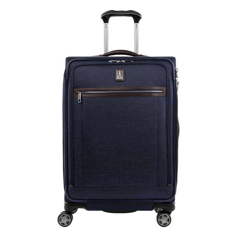 トラベルプロ メンズ スーツケース バッグ Platinum Elite 25 Expandable Spinner Navy