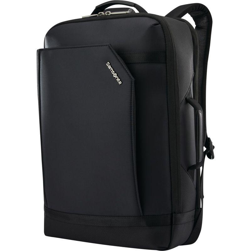 サムソナイト メンズ スーツケース バッグ Encompass Convertible Laptop Backpack Black N Black