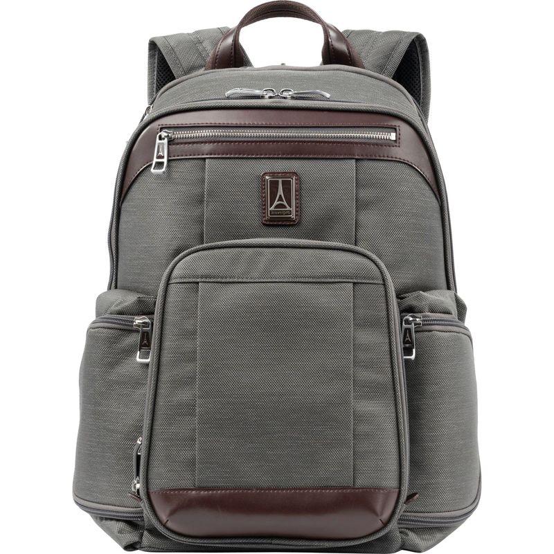トラベルプロ メンズ スーツケース バッグ Platinum Elite Business Laptop Backpack Vintage Grey