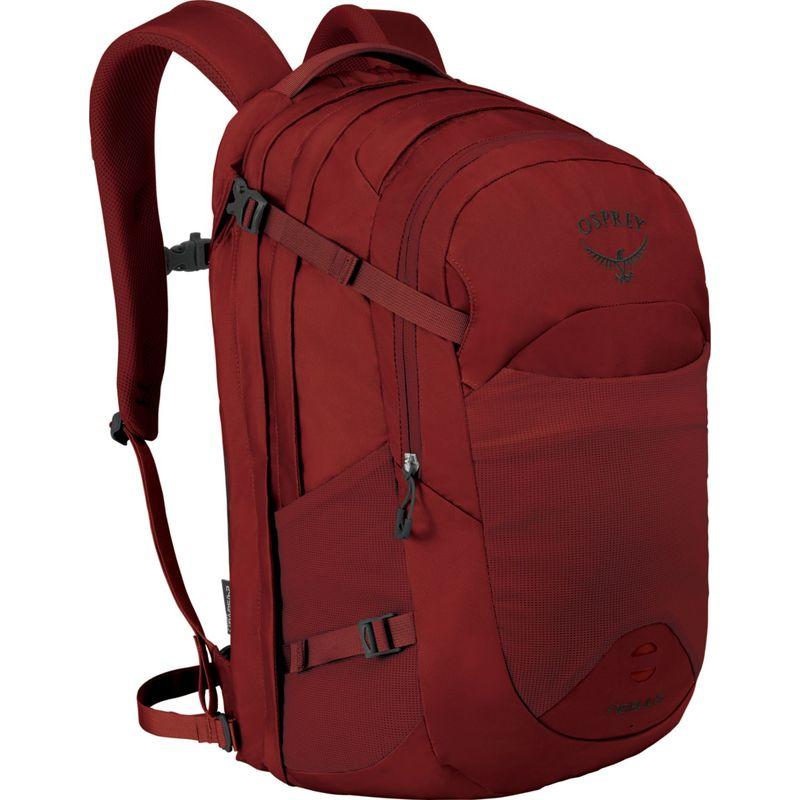 オスプレー メンズ スーツケース バッグ Nebula Laptop Backpack Rivet Red