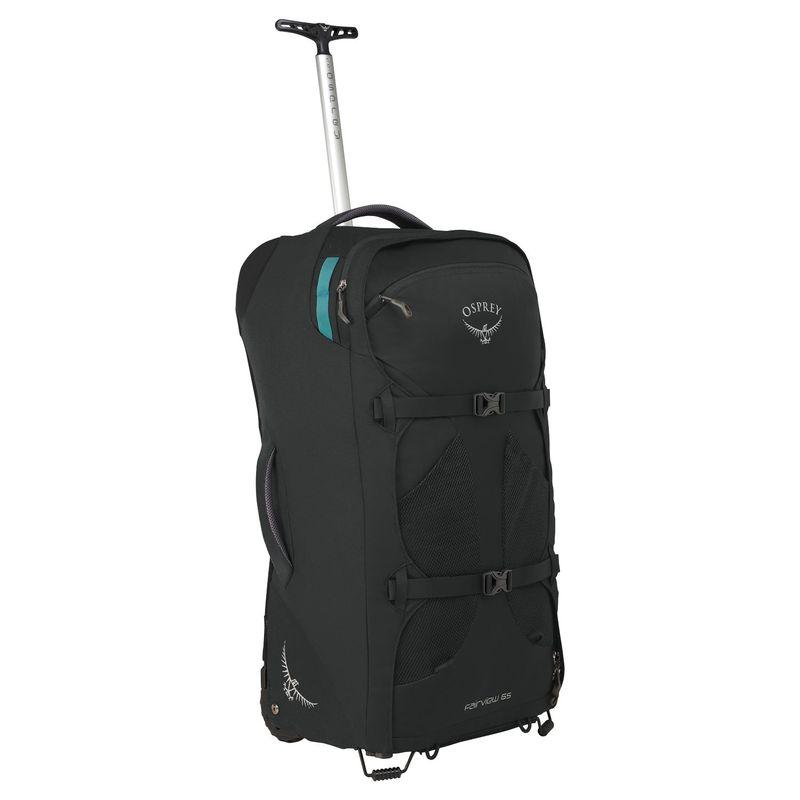 オスプレー メンズ スーツケース バッグ Fairview Wheeled Travel Pack 65 Black