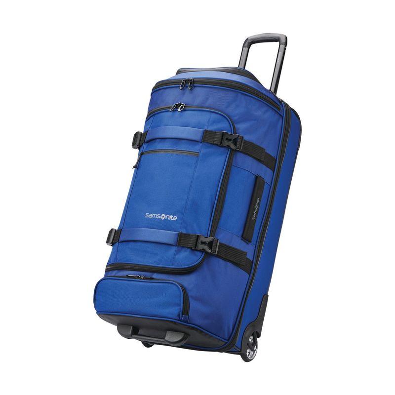 サムソナイト メンズ スーツケース バッグ Detour 29 Wheeled Duffel Cobalt Blue