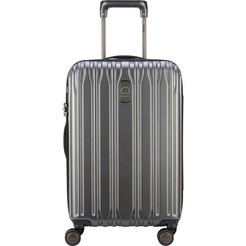 デルシー メンズ スーツケース バッグ Chromium Lite 21 Expandable Hardside Carry-On Spinner Graphite