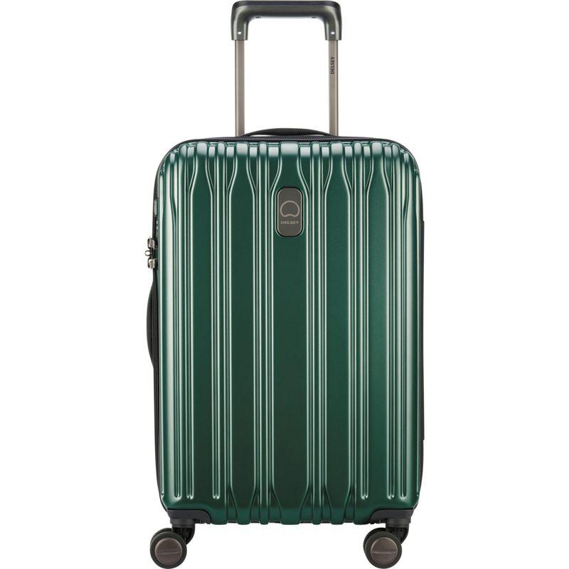 デルシー メンズ スーツケース バッグ Chromium Lite 21 Expandable Hardside Carry-On Spinner Green