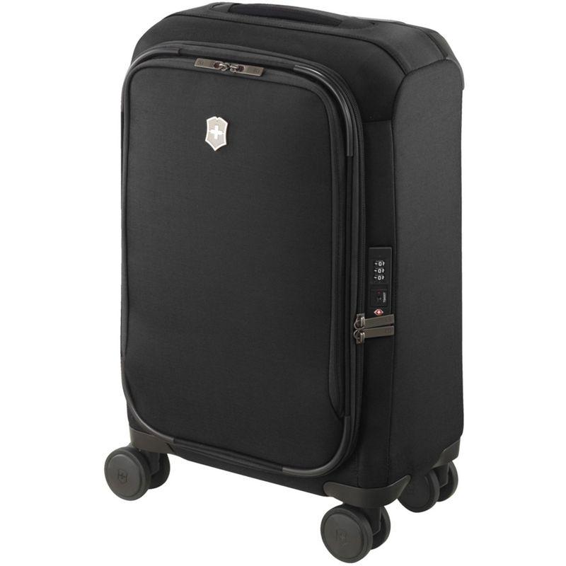 ビクトリノックス メンズ スーツケース バッグ Connex Frequent Flyer Softside Carry On Black