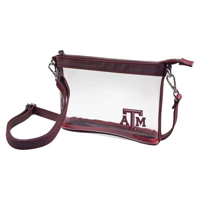 カプリデザイン メンズ ボディバッグ・ウエストポーチ バッグ Small NCAA Crossbody - Licensed Texas A&M