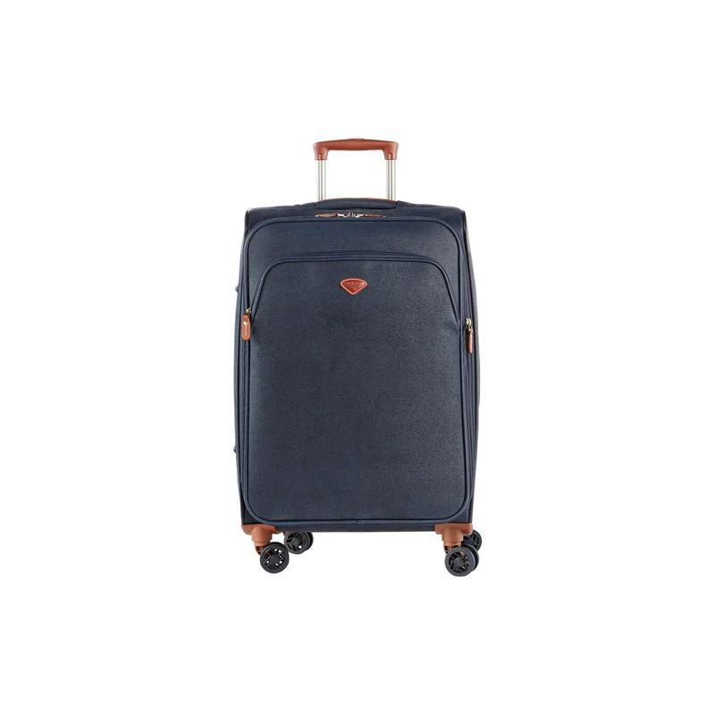 ジャンプ メンズ スーツケース バッグ Uppsala Medium Expandable Spinner Suitcase Navy