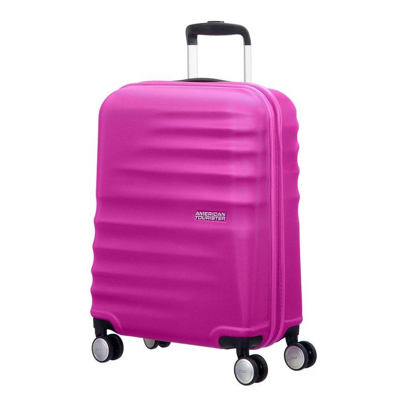 アメリカンツーリスター メンズ スーツケース バッグ Wavebreaker 20 Hardside Carry-On Spinner Hot Lips Pink