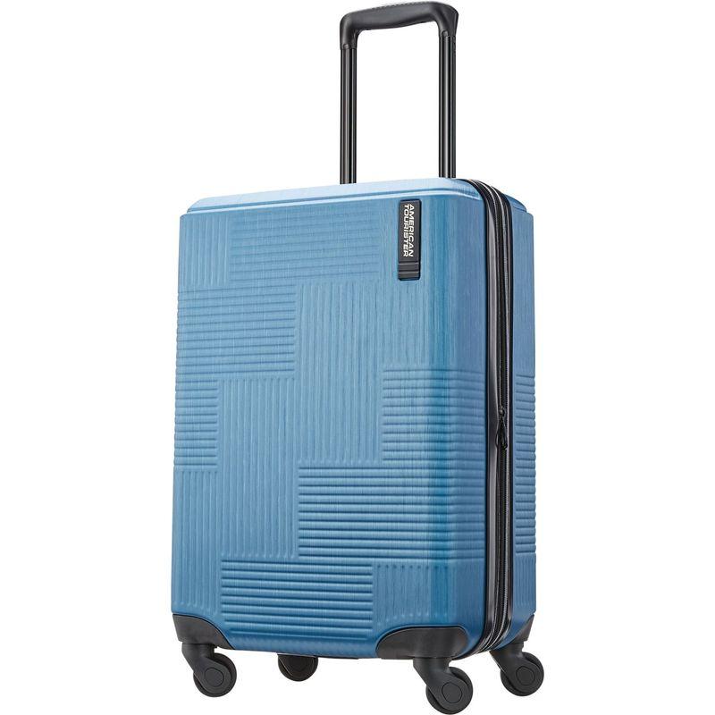 アメリカンツーリスター メンズ スーツケース バッグ Stratum XLT 20 Expandable Hardside Carry-On Spinner Blue