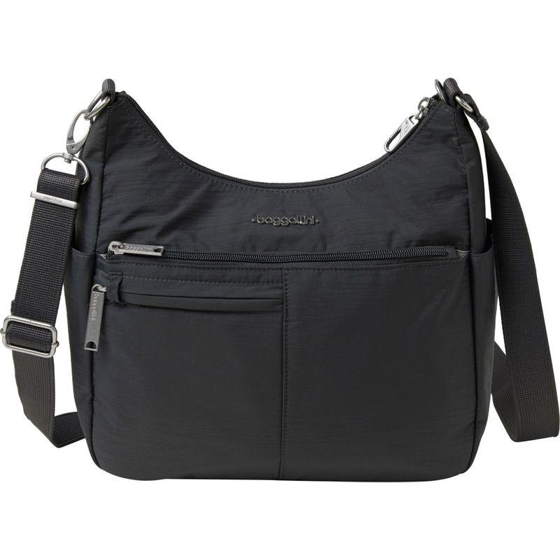 送料無料 サイズ交換無料 バッガリーニ メンズ バッグ ボディバッグ・ウエストポーチ Black バッガリーニ メンズ ボディバッグ・ウエストポーチ バッグ Anti-Theft Free Time Crossbody Bag Black