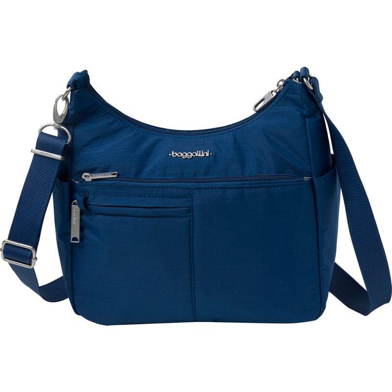 バッガリーニ メンズ ボディバッグ・ウエストポーチ バッグ Anti-Theft Free Time Crossbody Bag Pacific