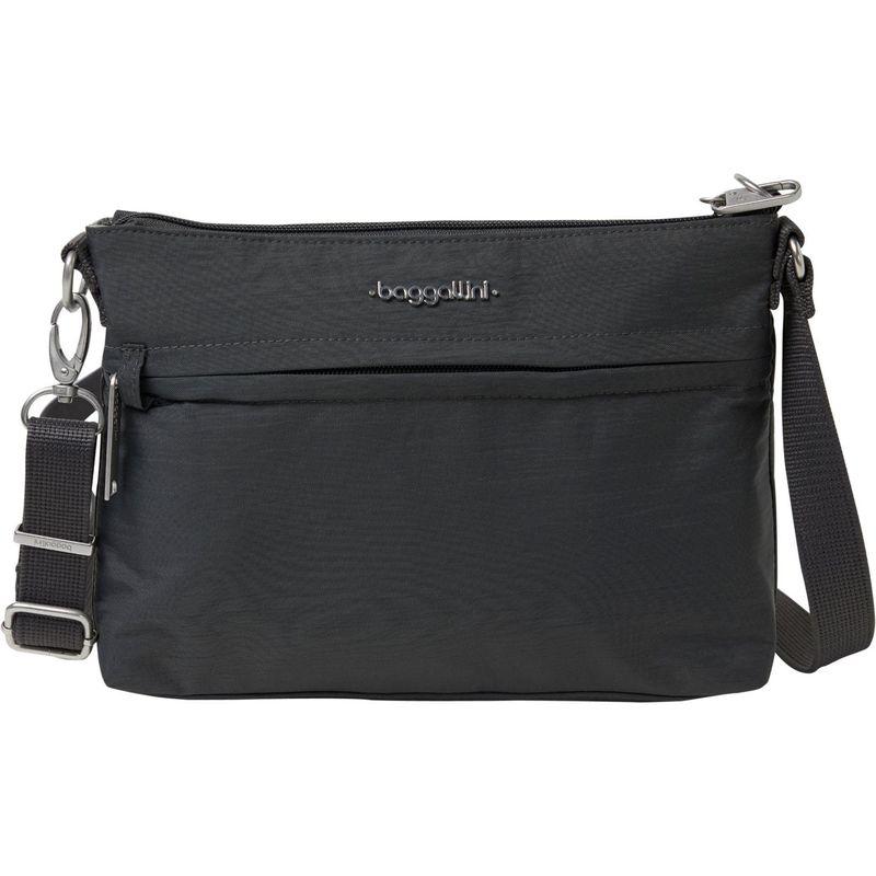 バッガリーニ メンズ ボディバッグ・ウエストポーチ バッグ Anti-Theft Memento Crossbody Bag Charcoal