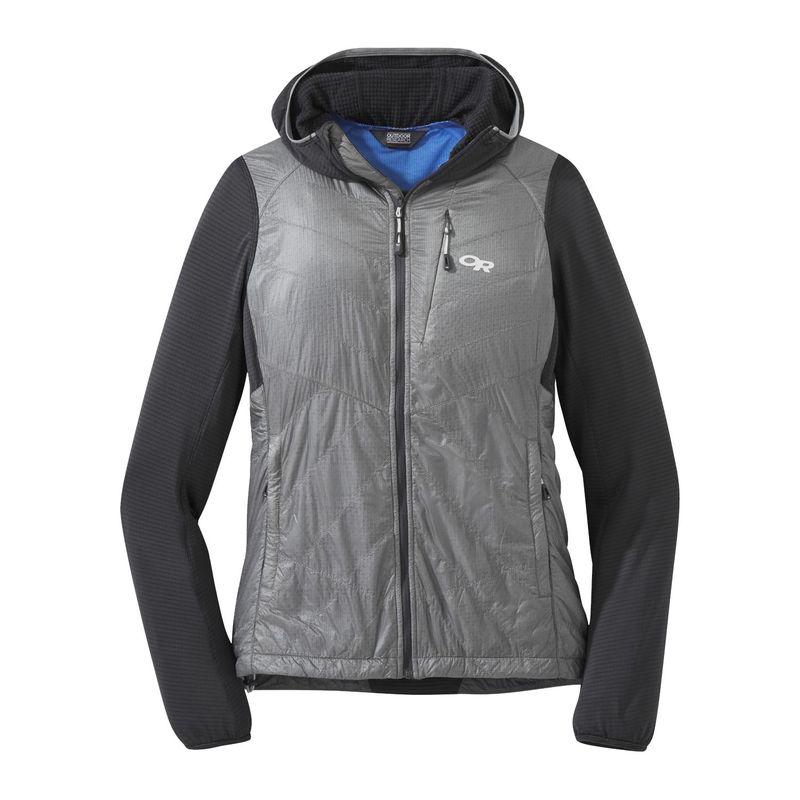 アウトドアリサーチ レディース ジャケット・ブルゾン アウター Women's Vigor Hybrid Hooded Jacket XS - Storm/Light Pewter