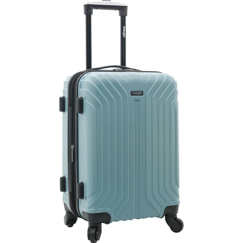 ラングラー バッグ スーツケース メンズ Auburn Hills 20 Hardside Expandable Carry-On Spinner Thyme