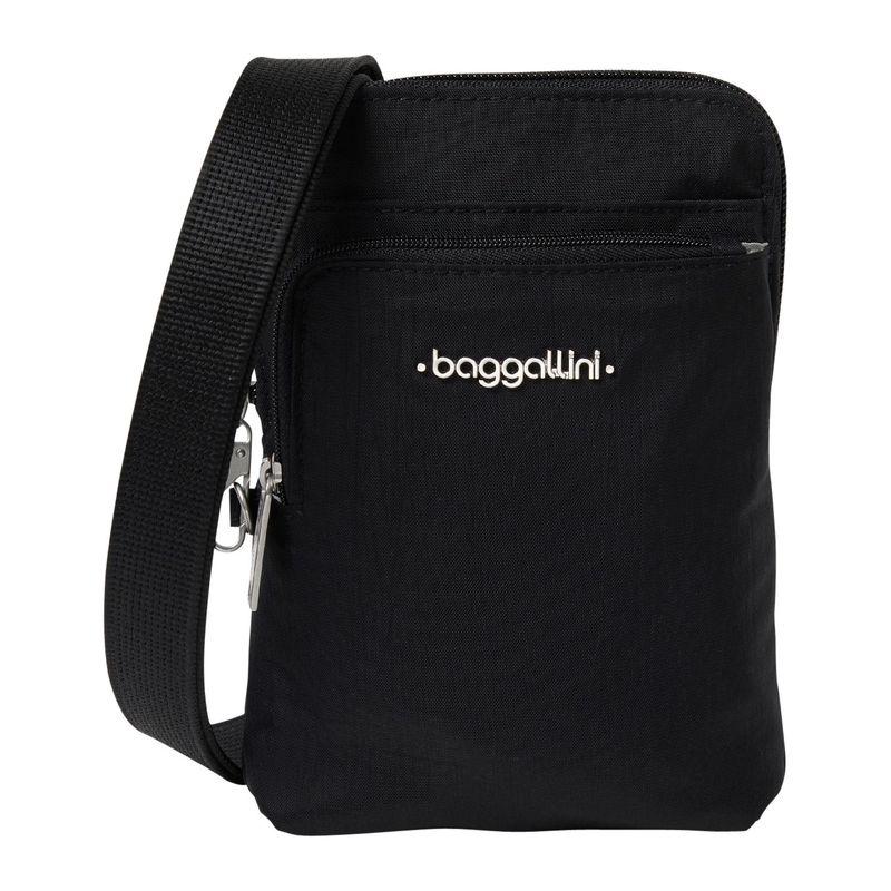 バッガリーニ メンズ ボディバッグ・ウエストポーチ バッグ Anti-Theft Activity Crossbody Bag Black