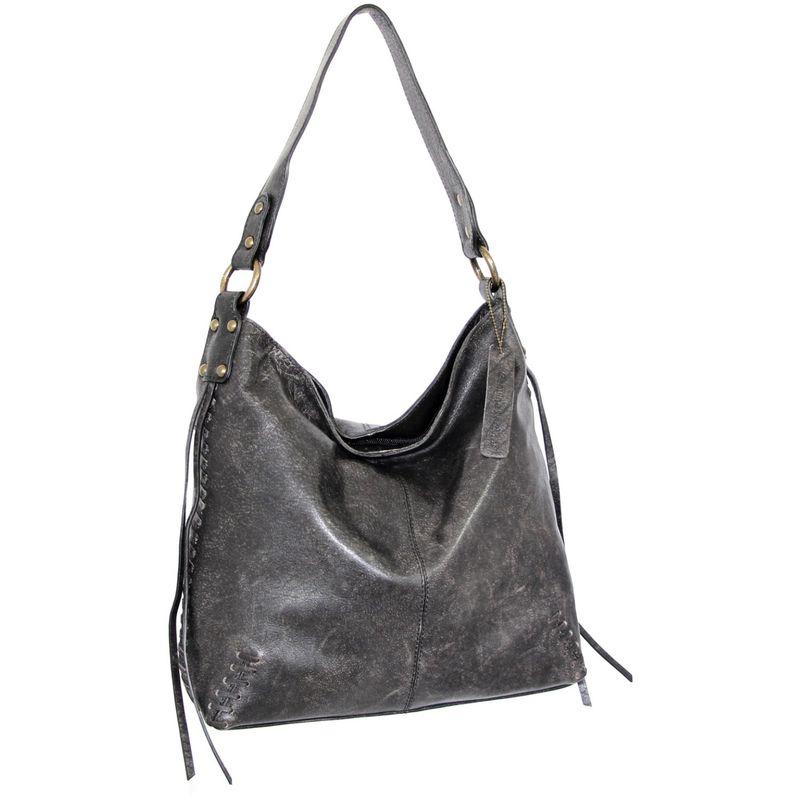 ニノボッシ メンズ ショルダーバッグ バッグ Trinity Shoulder Bag Black
