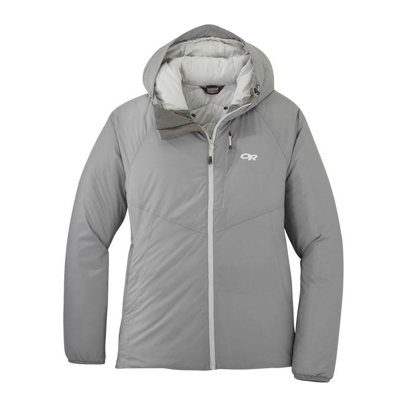 アウトドアリサーチ レディース ジャケット・ブルゾン アウター Women's Refuge Hooded Jacket XS - Light Pewter