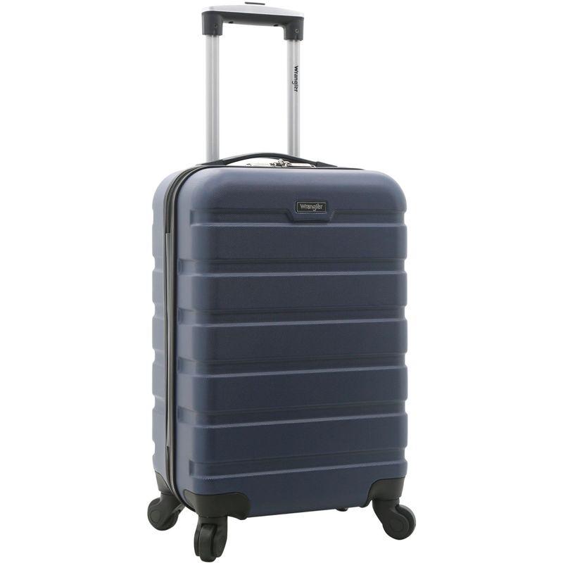 ラングラー メンズ スーツケース バッグ 20 Hardside Carry-On Spinner Navy