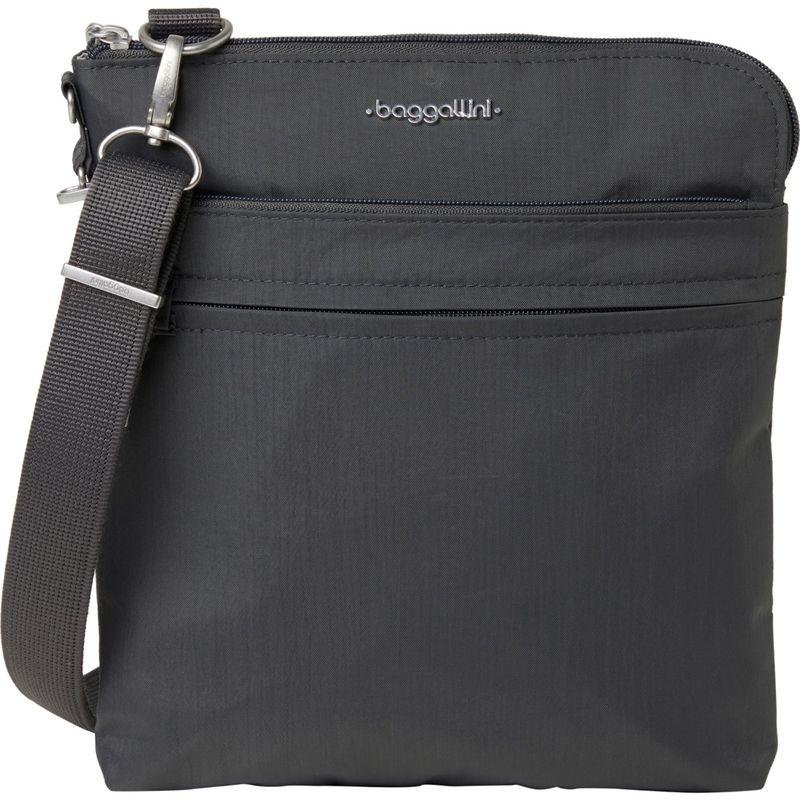 バッガリーニ メンズ ボディバッグ・ウエストポーチ バッグ Anti-Theft Harbor Crossbody Bag Charcoal