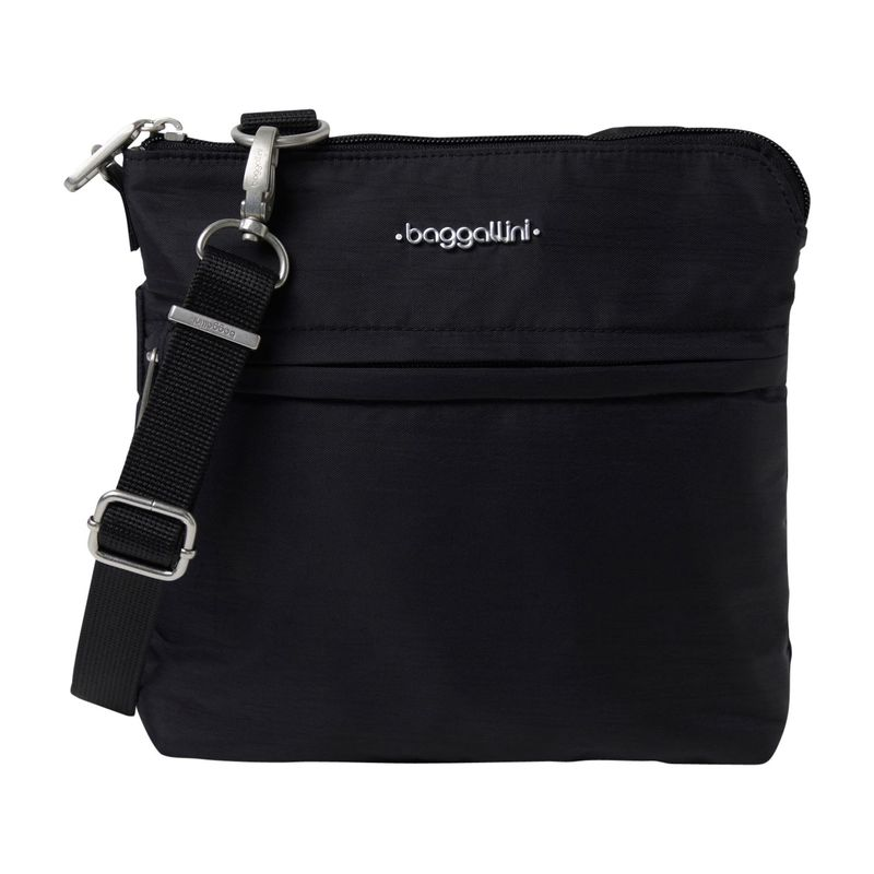 バッガリーニ メンズ ボディバッグ・ウエストポーチ バッグ Anti-Theft Leisure Crossbody Bag Black