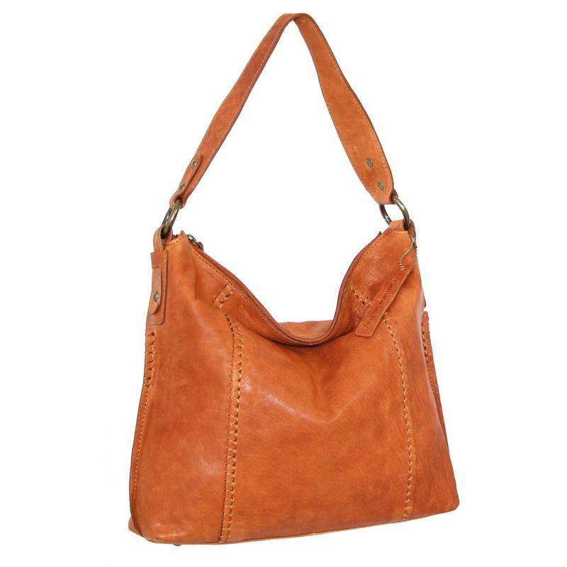 ニノボッシ メンズ ショルダーバッグ バッグ Monika Shoulder Bag Cognac
