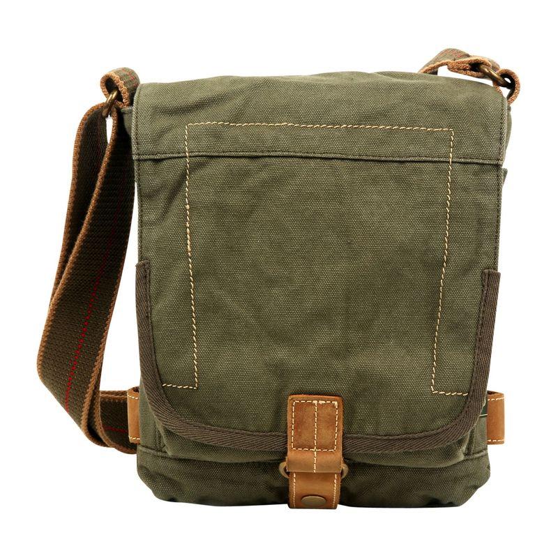 ティエスディー メンズ ボディバッグ・ウエストポーチ バッグ Atona Classic Flap Crossover Army Green