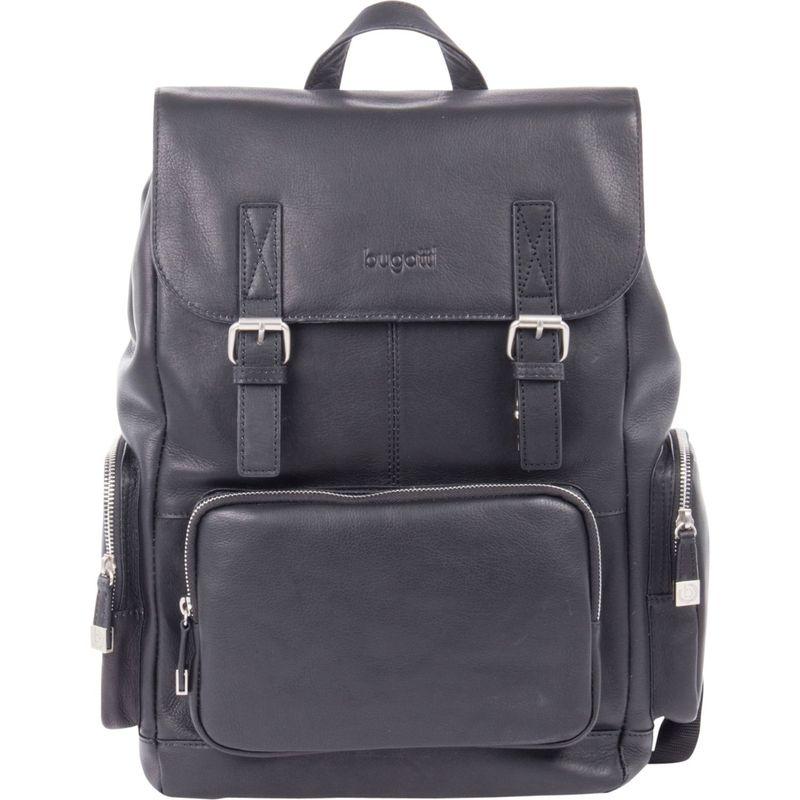 ブガッティ メンズ スーツケース バッグ Sartoria Top Grain Leather Backpack Black