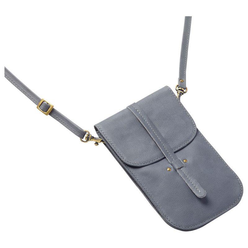 クレバ メンズ ボディバッグ・ウエストポーチ バッグ Sonoma Smartphone Convertible Crossbody Belt Pouch Sonoma Grey