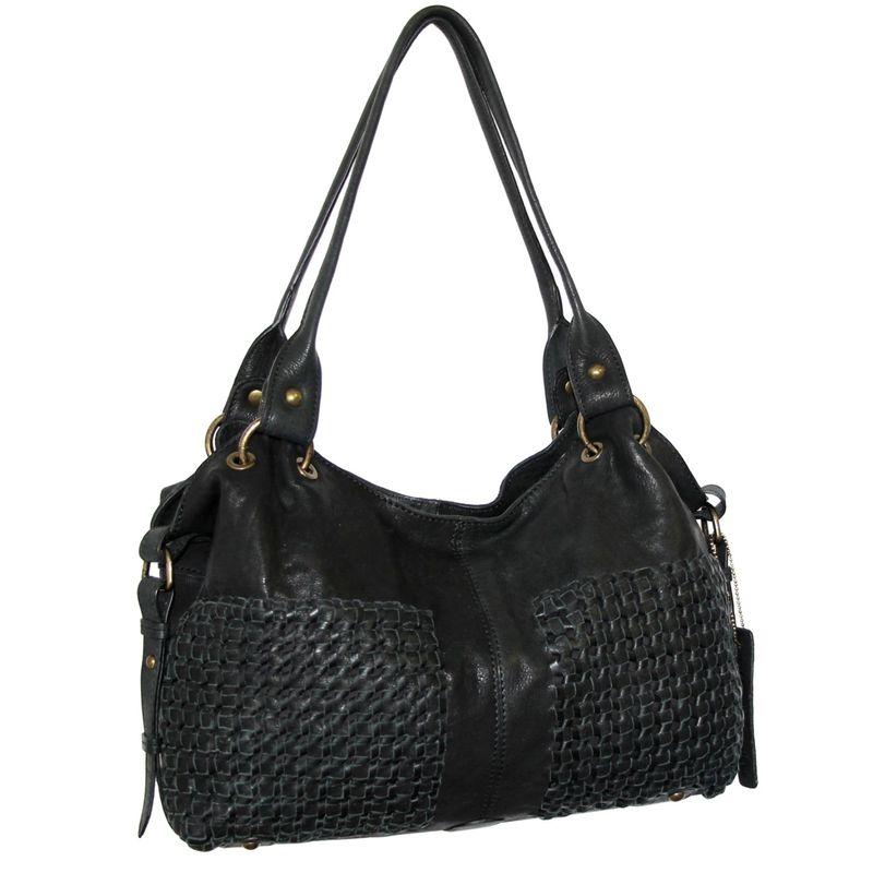 送料無料 サイズ交換無料 ニノボッシ メンズ バッグ ハンドバッグ Black ニノボッシ メンズ ハンドバッグ バッグ Shelley Satchel Black
