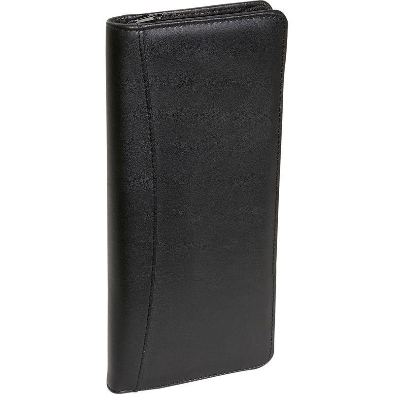 ロイスレザー メンズ 財布 アクセサリー Expanded Document Case Black