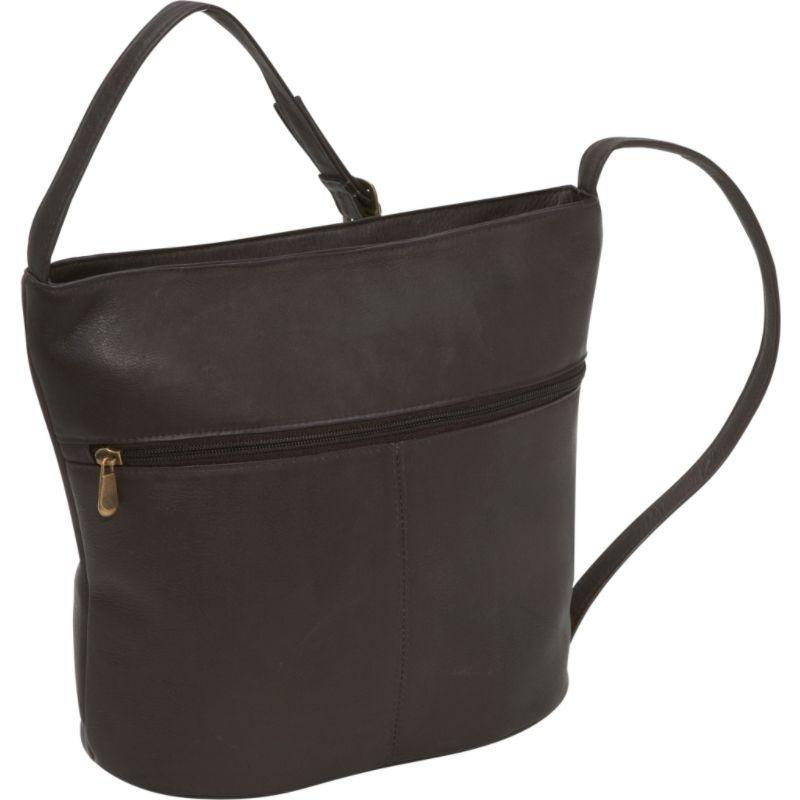 ルドネレザー メンズ ショルダーバッグ バッグ Bucket Shoulder Bag Cafe
