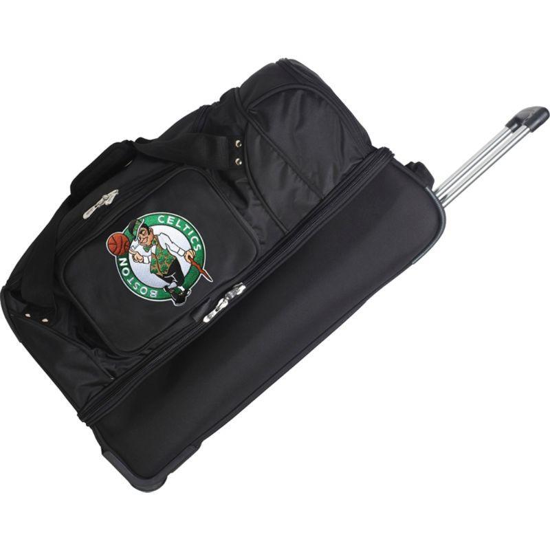 デンコスポーツ メンズ スーツケース バッグ NBA 27 Drop Bottom Wheeled Duffel Bag Boston Celtics