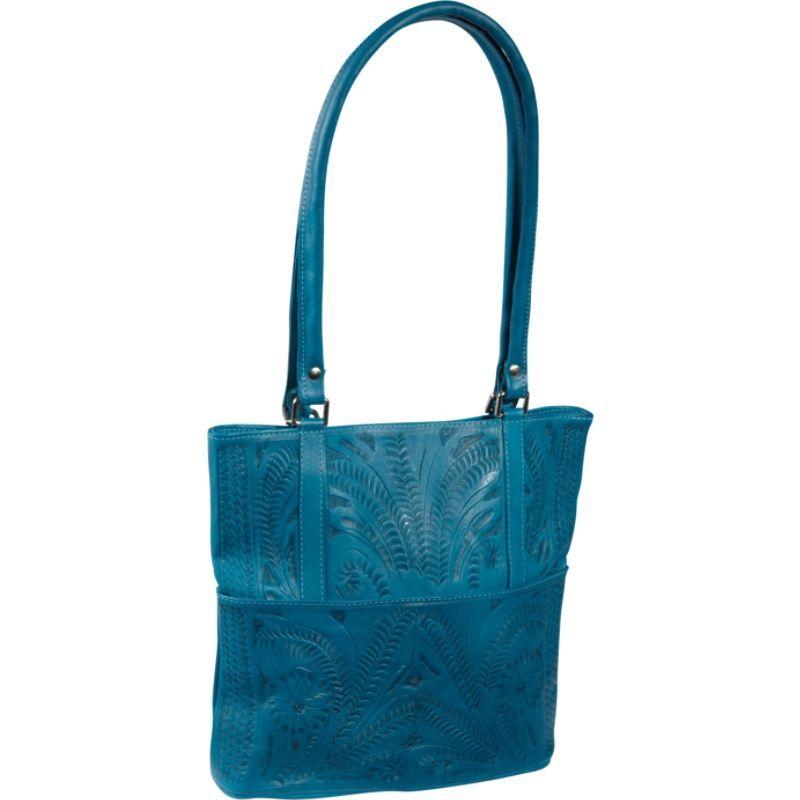 ロピンウェスト メンズ ショルダーバッグ バッグ Tote Bag Turquoise