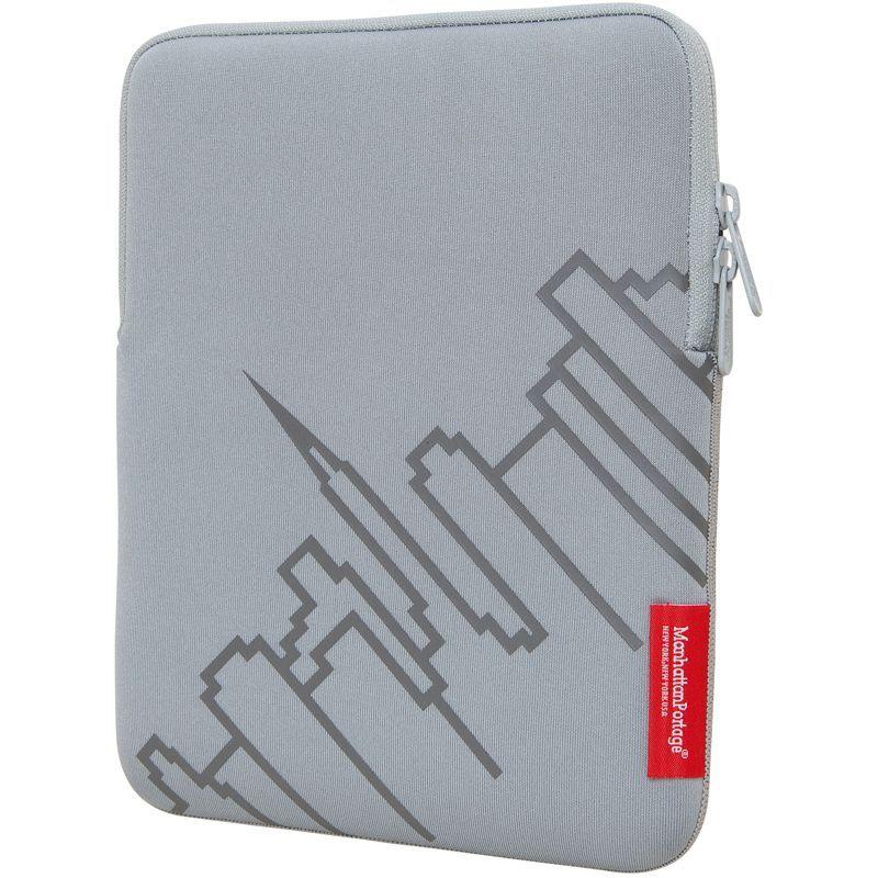 マンハッタンポーテージ メンズ PC・モバイルギア アクセサリー Skyline iPad Sleeve (8-10 in.) Silver
