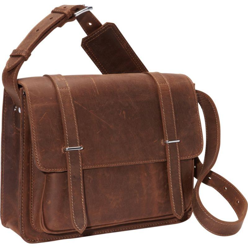 ヴァガボンドトラベラー メンズ スーツケース バッグ 14 Leather Laptop Bag Vintage Distress