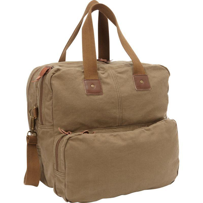ヴァガボンドトラベラー メンズ スーツケース バッグ Tall Casual 15 Shoulder Bag Military Green